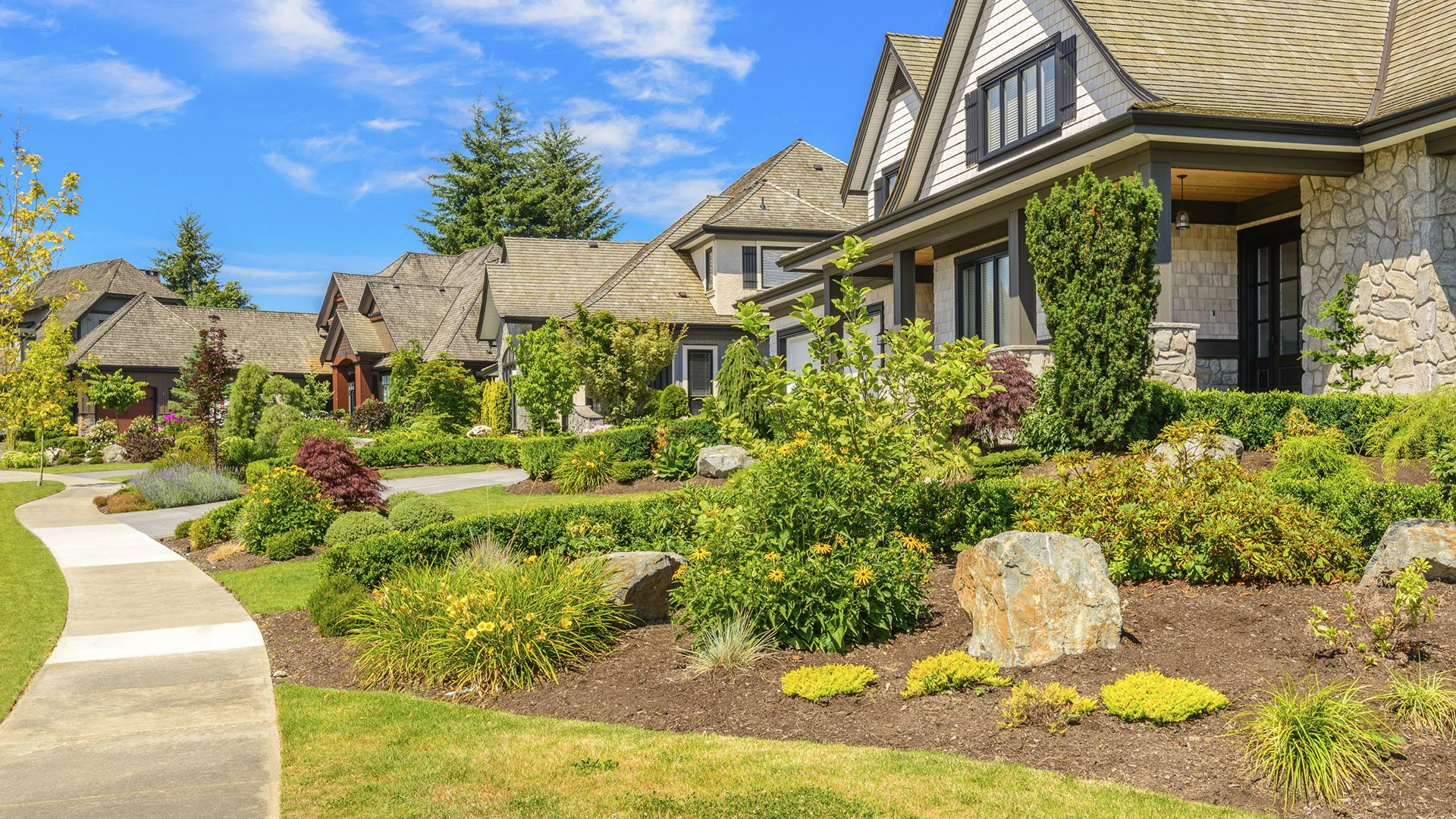 Ground Cover Landscaping Services Sod Installation, Concrete Patios and Irrigation slide 2
