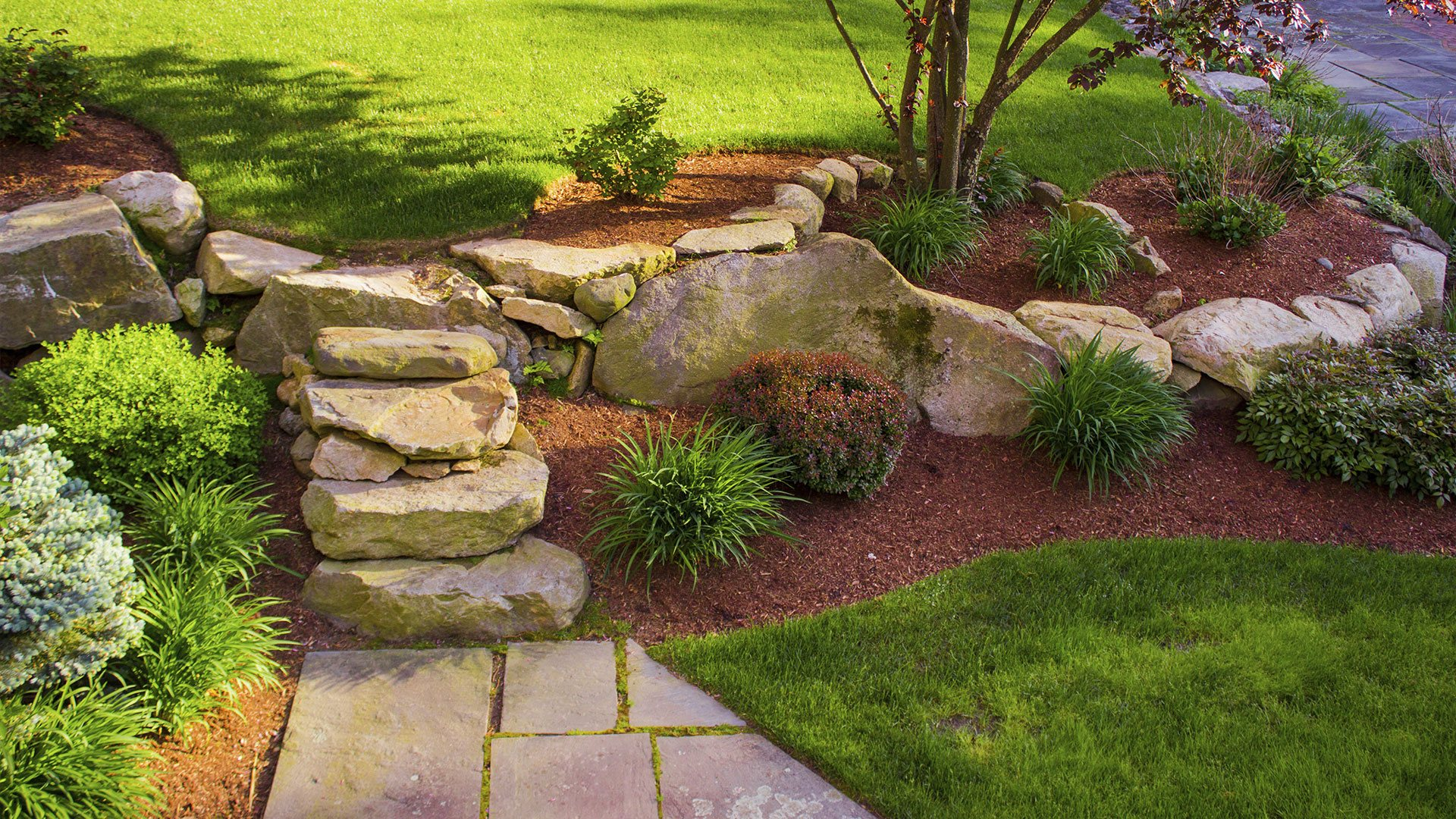 Ground Cover Landscaping Services Sod Installation, Concrete Patios and Irrigation slide 3